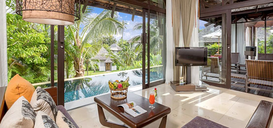 TWO-BEDROOM POOL VILLAS