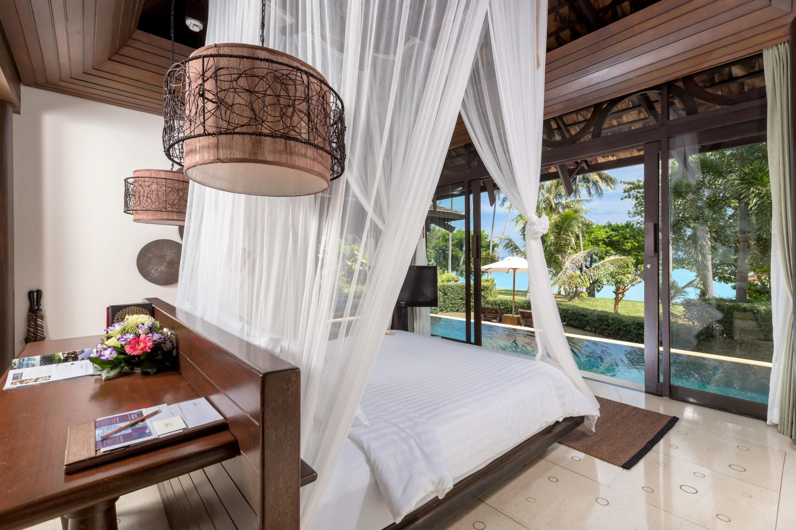 004_Vijitt Pool Villa_bedroom The vijitt Resort Phuket