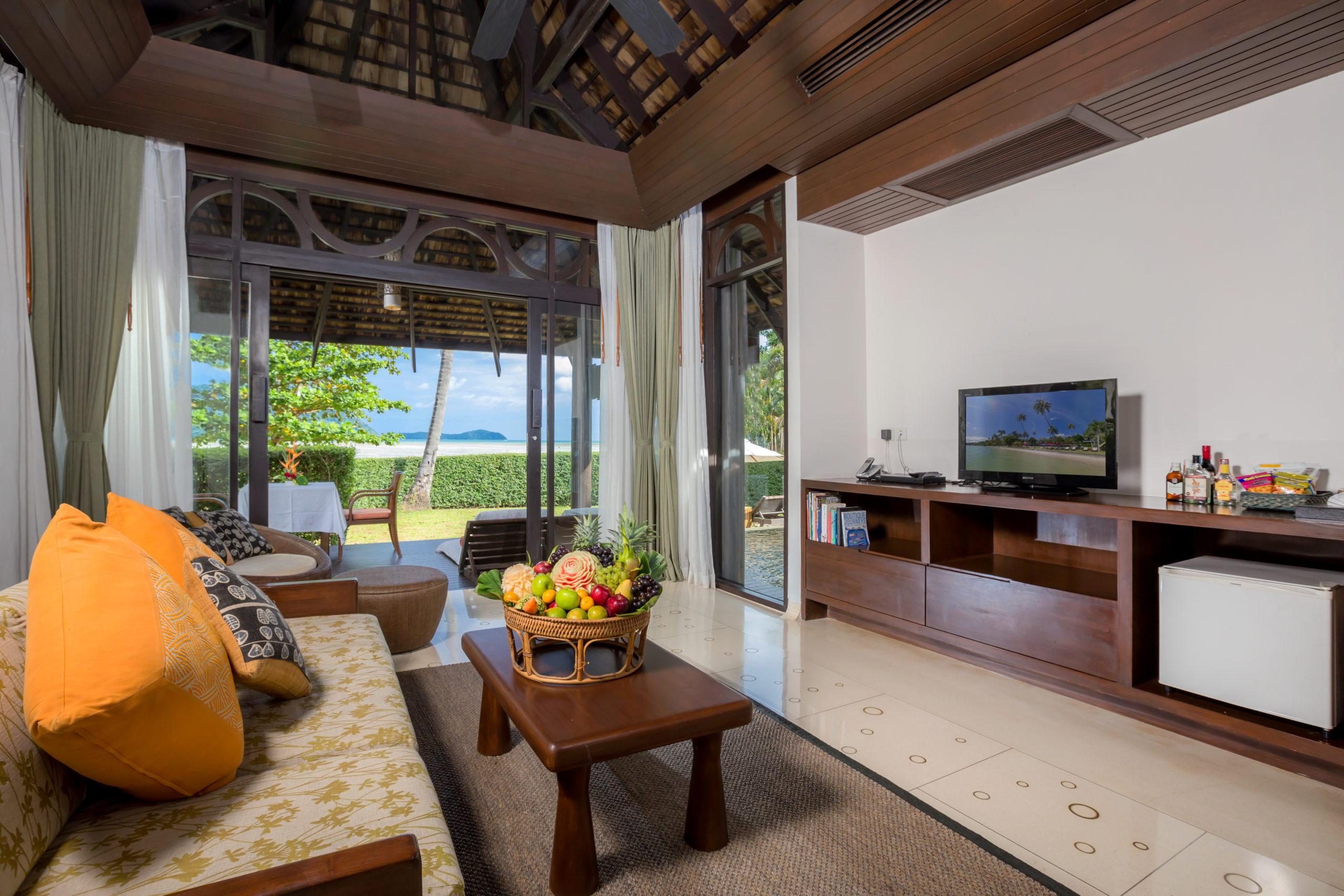 005_Vijitt Pool Villa_bedroom The vijitt Resort Phuket