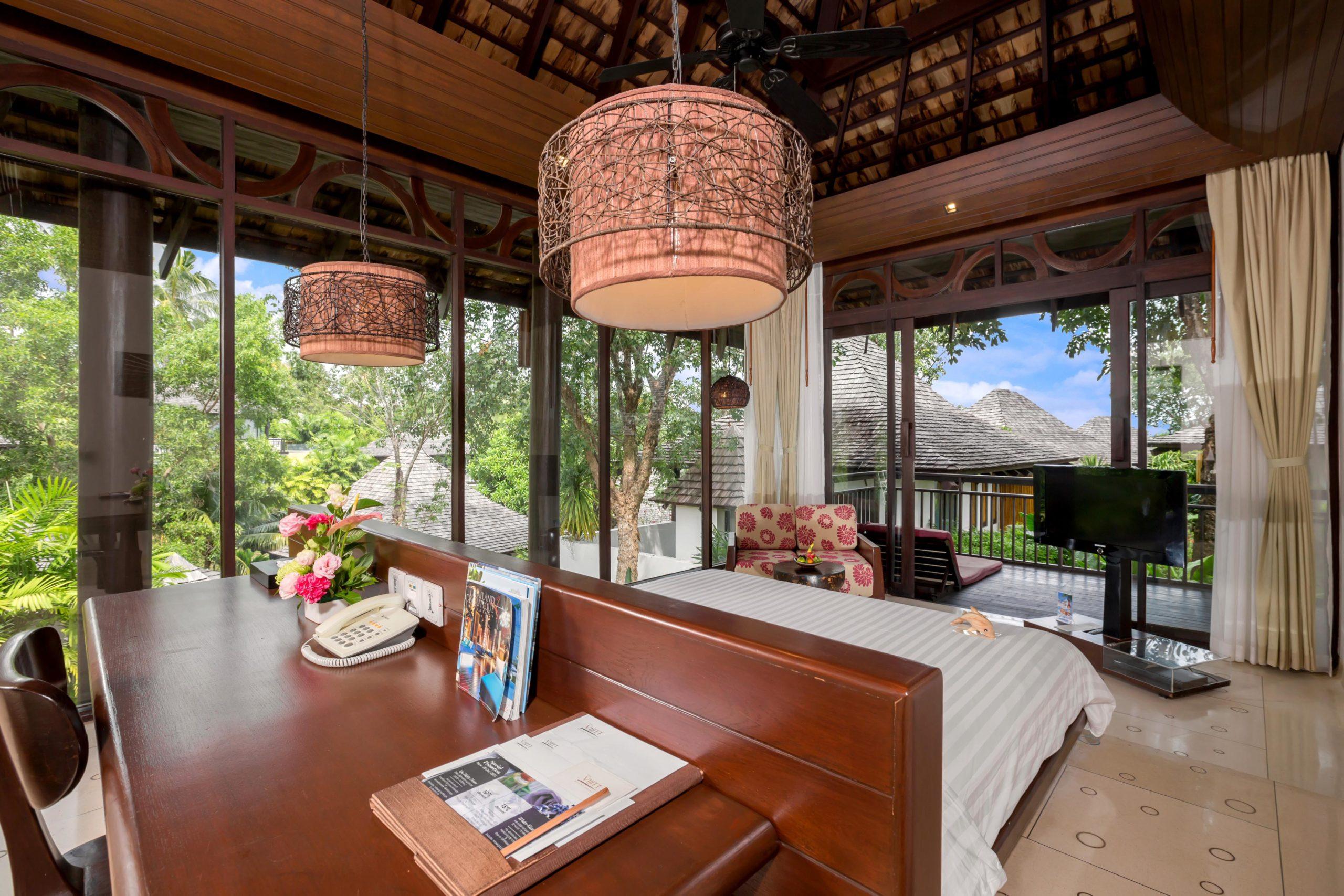 006_Deluxe Villa_Garden_ Bedroom The Vijitt Resort Phuket