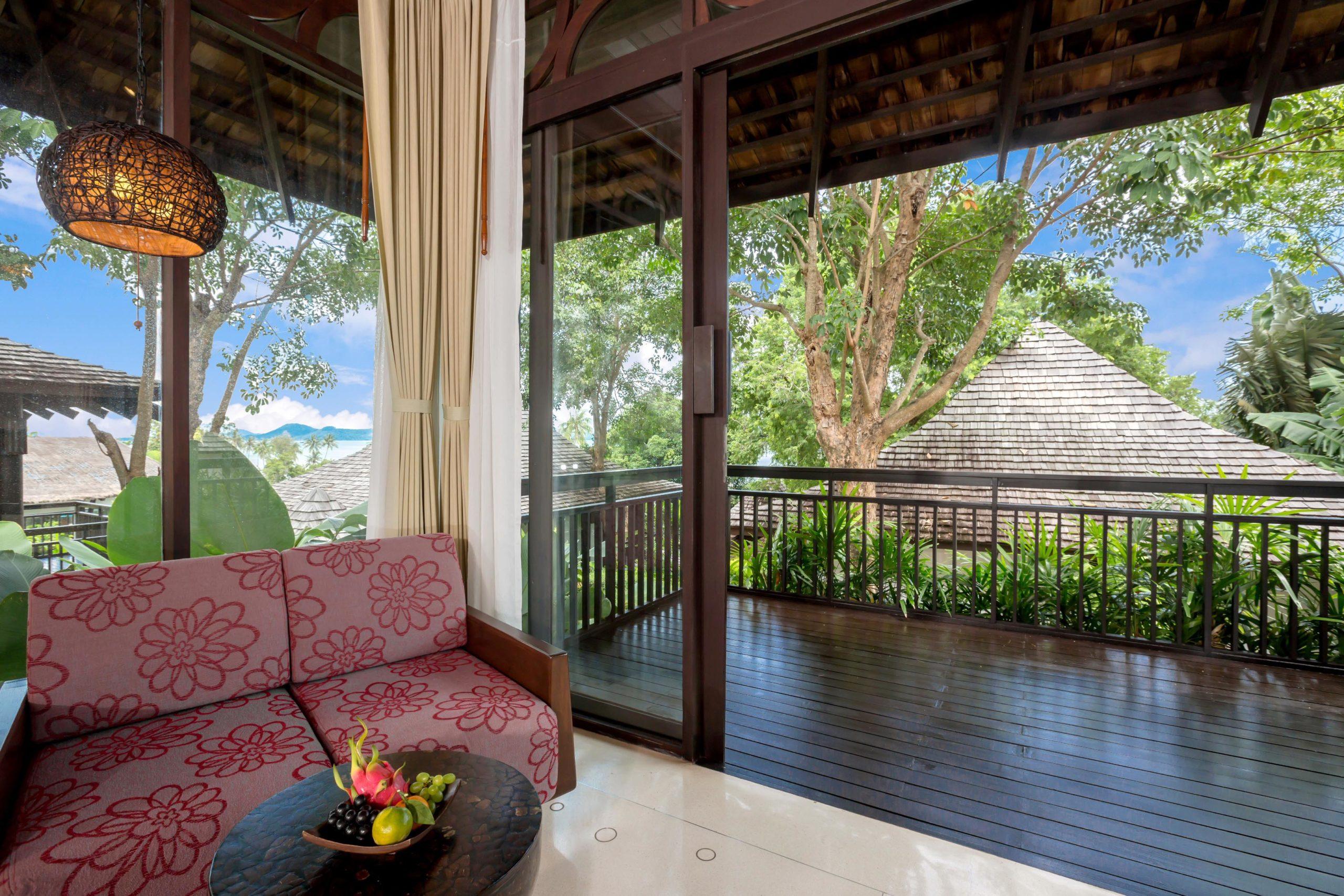 010_Deluxe Villa_Garden_ Bedroom The Vijitt Resort Phuket