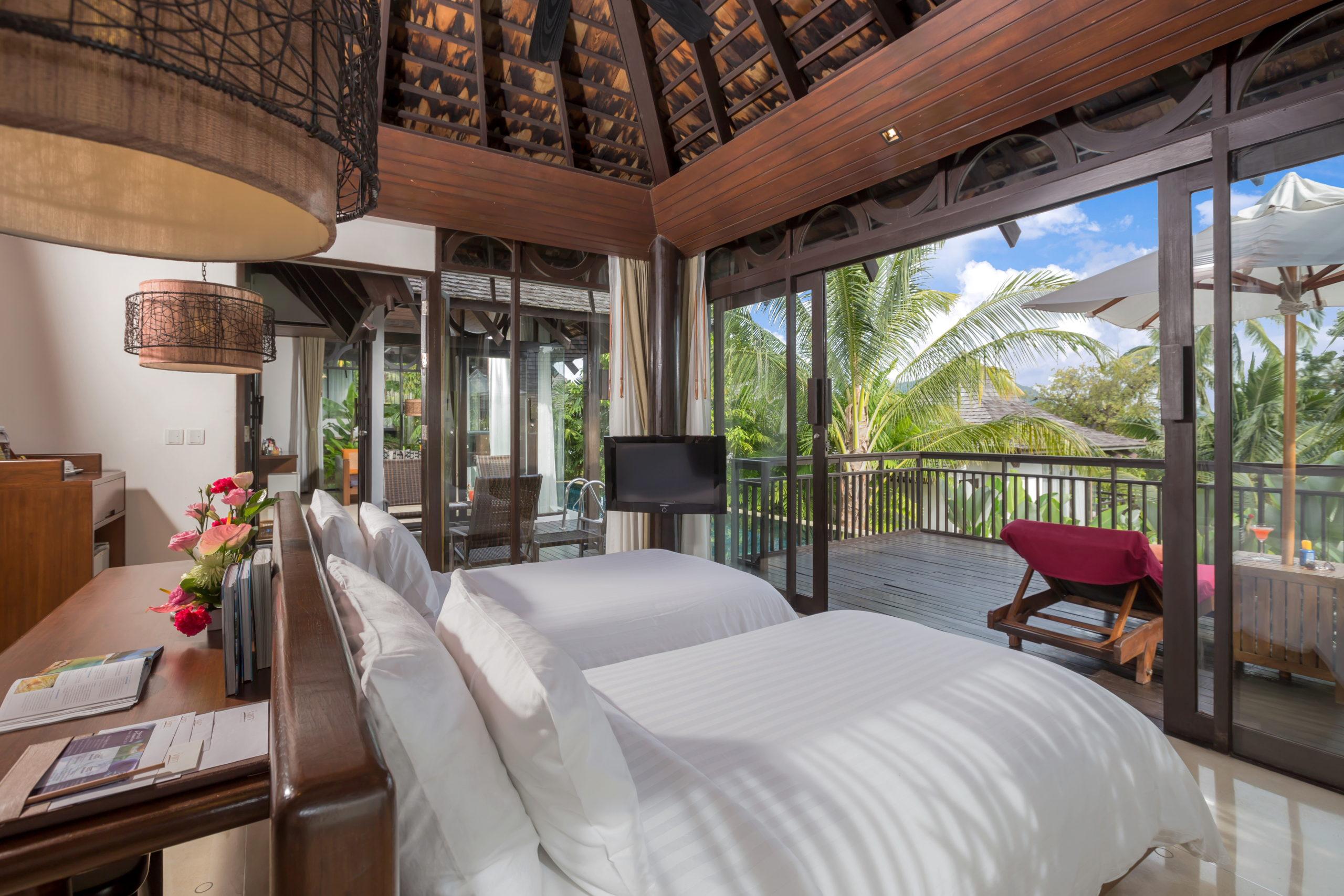 012_Two-Bedroom Pool Villa_second bedroom The Vijitt Resort Phuket