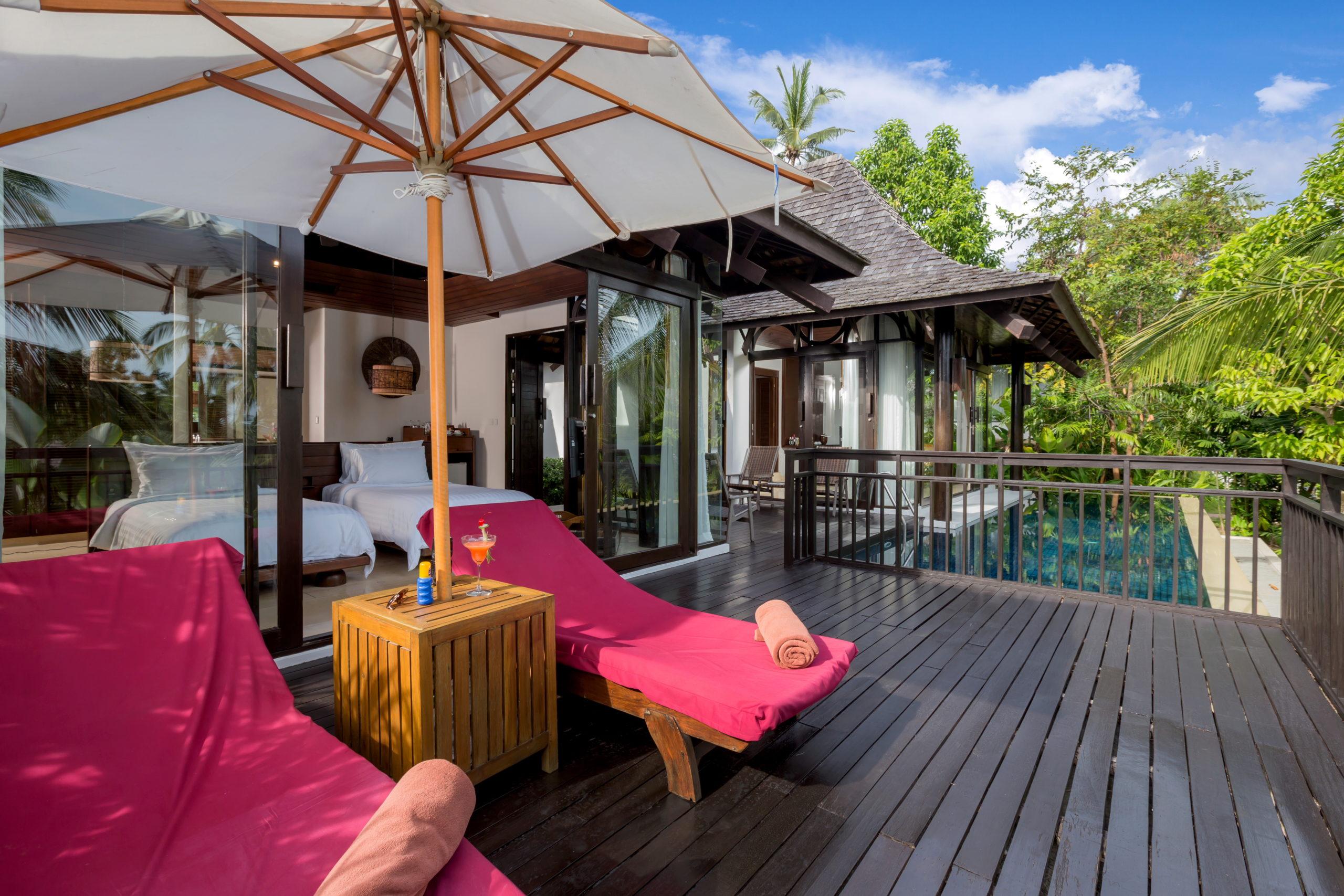 022_Two-Bedroom Pool Villa_Terrace The Vijitt Resort Phuket